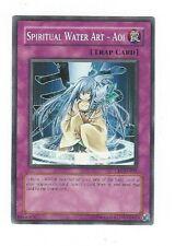 X1 YUGIOH SPIRITUAL WATER ART AOI CRV-EN051 COMMON