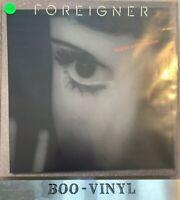 FOREIGNER - Inside Information Vinyl LP Record 1987  Ex + Con Original