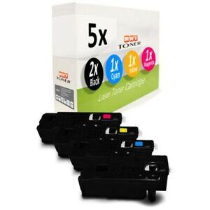 5x Tóner Para Xerox WC-6027 WC-6025 Workcentre 6025 6027 Phaser 6022 6020-BI