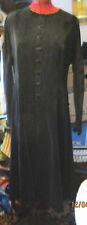 VINTAGE LAURA ASHLEY BLACK VELVET  DRESS SIZE 12