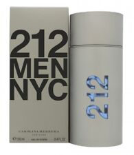 CAROLINA HERRERA 212 MEN EAU DE TOILETTE EDT 100ML SPRAY - MEN'S FOR HIM. NEW