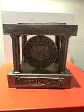 Collectible Canadian Whiskey Grand Award Bottle Display Pewter Rare!