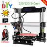 Upgraded Reprap Prusa i3 Auto Level 3D Printer High Precision 220*220*240mm LCD