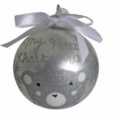 Décorations de Noël et sapins argentés Premier pour la maison