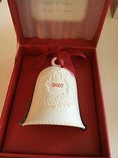 "2007 ""Porcelain Bell "" Hallmark Ornament (Nib)"