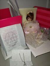 NIB! Marie Osmond Porcelain Doll ROSE BUD Peace Rose Bud COA Hand #2106 NRFB