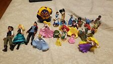 Random Disney Figure Lot Lilo & Stitch Rapunzel Elena of Avalor Dolls Ariel etc