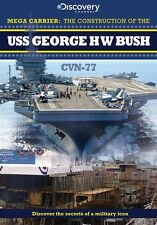 Mega Carriers - The Construction of The USS George H W Bush (New DVD) US Navy