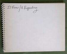 "1969 ALLEN RUPPERSBERG ""23 PIECES"" TRUE FIRST EDITION - LA CONCEPTUAL PHOTO ART"