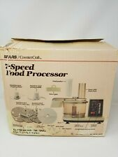 SEARS Vintage 7-SPEED Counter Craft Food Processor Model 11-69318 Never Used!!!