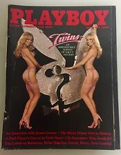 Vintage Playboy Magazine March1981 TWINS-An Irresistible Survey Saucy Sisters L
