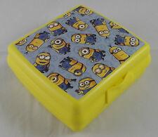 Tupperware A 126 Sandwichbox Dose Minions Minion Pausendose Gelb Blau Neu OVP