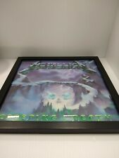 Framed Metallica Creeping Death Record Black Disc