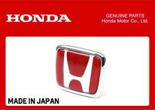 GENUINE HONDA FRONT GRILLE RED H EMBLEM BADGE CIVIC TYPE R FK8 2017+