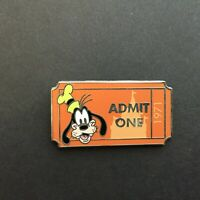 WDW - PWP Collection - Admission Ticket - Goofy Disney Pin 92330