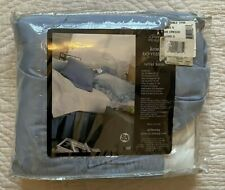 Nwt JcPenney Home Collection Wedgewood Blue Ruffled Bed Skirt Full Double