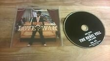 CD Hiphop The Rebel Yell - Love & War (13 Song) Promo BBE REC / RAPSTER