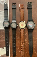 4 Hard Rock Cafe Wrist Watch Watches- Cancun Orlando, New Orleans, Washington DC