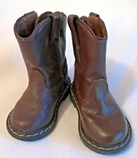 GARANIMALS Toddler Brown Faux Leather Boots-Size 5-EUC