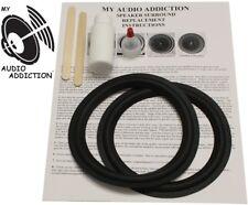 "Speaker Surround Kit For Tannoy Pbm 6.5 / 6 1/2"" Studio Monitors !"