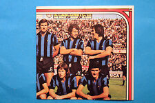 PANINI CALCIATORI 1974/75 153 154 DOPPIA INTER SQUADRA NEW EDICOLA