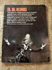 New ListingB. B. King The Personal Instructor 4 Amsco Sheet Music Song Book