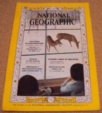 National Geographic November 1963 Park Backyard Malaysia Solar Eclipse from Jet