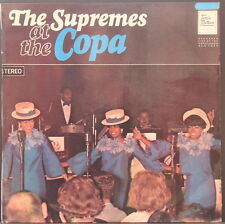 THE SUPREMES AT THE COPA - ORIG '65 STEREO OZ PRESS D. ROSS & CO MOTOWN EX COND.