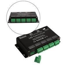LED Controller 12 Channel RGB DMX Decoder Driver Strip Module Black DC5V-24V