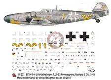 "Peddinghaus 1/72 Bf 109 G-6 ""Karaya"" Markings Erich Hartmann Russia 1943 2231"