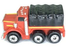 Micro Machines Cargo Truck Vehicle Red Black Transport Big Rig Diesel Commercial