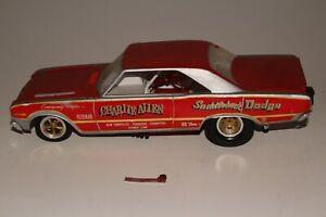 MPC 1969 Dodge Dart Funny Car, Charlie Allen Saddleback Dodge, Original Kit