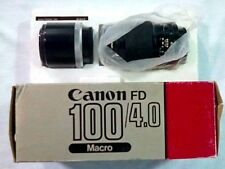 Canon (Vintage) FD 100/4.0 w/ Extension Tube FD 50-U (BRAND NEW!)