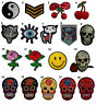 Embroidered Iron On / Sew On Patches Badges Fancy Dress Party