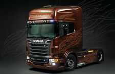 Camión 1:24 ITALERI 3897: Scania R730 Negro Amber