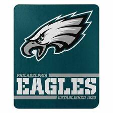 "New Philadelphia Eagles Nfl Split Wide Fleece Throw Blanket Large Size 50""x60"""