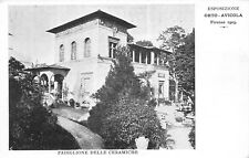 4613) FIRENZE 1903, ESPOSIZIONE ORTO AVICOLA, PADIGLIONE DELLE CERAMICHE.