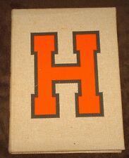 1964 LITTLE ROCK ARKANSAS HALL HIGH SCHOOL YEARBOOK - THE WARRIOR!!