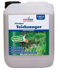 Starter Set Flüssiger Teichsauger & Bakto Bio Koi Filterbakterien Teichschlamm