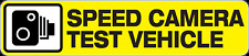 SPEED CAMERA TEST VEHICLE STICKER DRIFT HOTROD DRAG 180mm