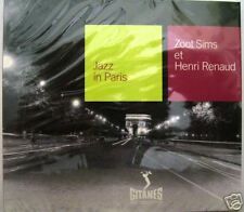 ZOOT SIMS ET HENRI RENAUD - CD JAZZ IN PARIS