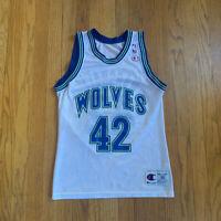 Minnesota Timberwolves Vintage 90's Donyell Marshall Champion Jersey 36 S EUC