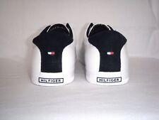 Herrenschuhe Schuhe Tommy Hilfiger Leder Sneaker Freizeitschuhe Sport Weiß Gr.42