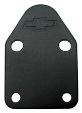 Proform 141-212 Chevy Small Block Fuel Pump Block Off Plate Black Wrinkle Steel