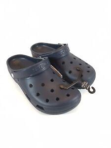 Mens Crocs Coast Clog Size 11 Navy Blue 204151-410