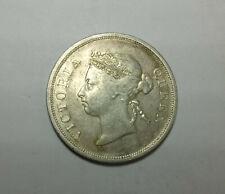 1896 Straits Settlement 50 cent VF rare