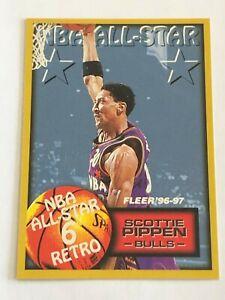 Card Scottie Pippen FLEER '96-97 NBA ALL-STAR 6 RETRO #287