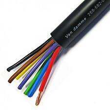 Van Damme PRO Black Series Tour Grade Speaker Cable. Touring Multicore 8 Core