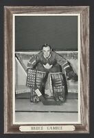 1964-67 Beehive Group III Toronto Maple Leafs Photos #162 Bruce Gamble