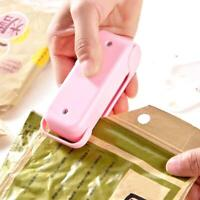 HOT Mini Portable Heat Sealing Machine Vacuum Food Bag Sealer Seal Packer Manual